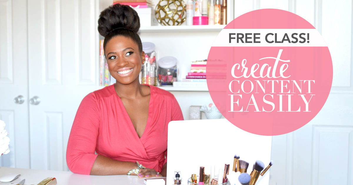 Join Us For a Free Online Class!