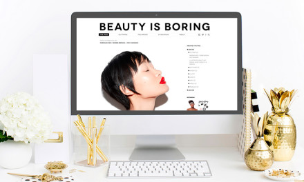 8 Minimally Designed Beauty Blogs