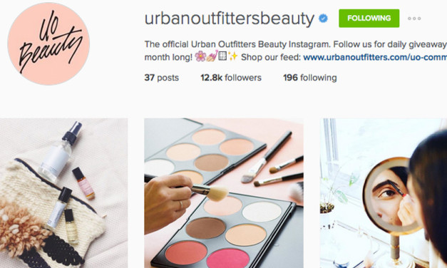 Urban Outfitters Launches Beauty Instagram Account