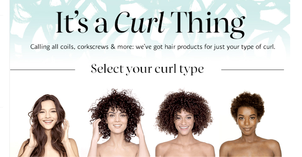 Sephora Launches New Web Service for Curly Girls