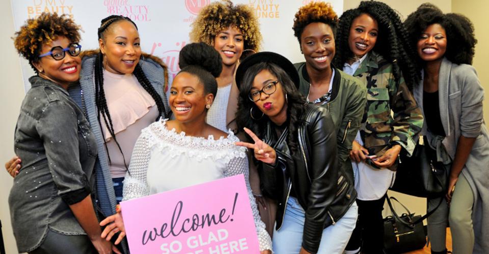 [PHOTOS] Our First DMV Beauty Lounge Meetup!