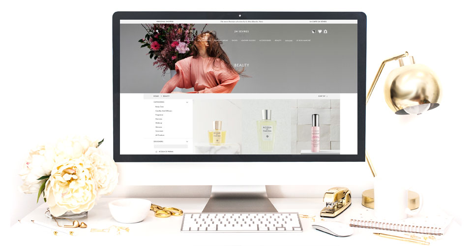LVMH Launches E-Commerce Site, 24 Sevres