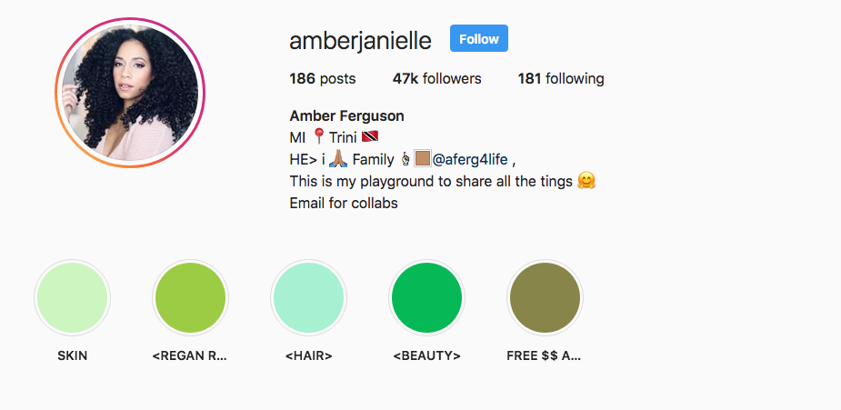 Amber Ferguson Instagram Highlights
