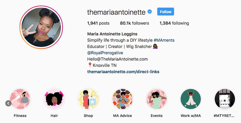 Maria Antoinette Instagram Highlights