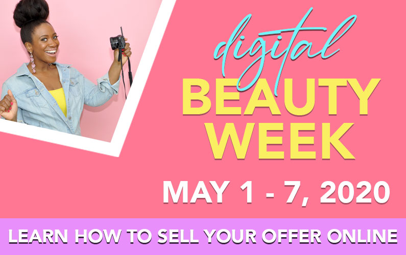 Learn How To Make Sales Online During Digital Beauty Week