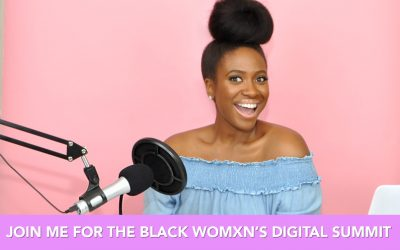 I'm Speaking at Howard University's Black Womxn's Digital Summit!